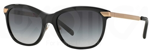 Burberry BE4169Q Black w/ Grey Gradient Lenses